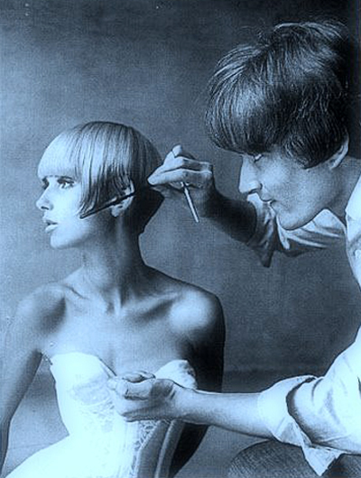 """My idea was to cut shape into the hair, to use it like fabric and take away everything that was superfluous."" Vidal Sassoon"