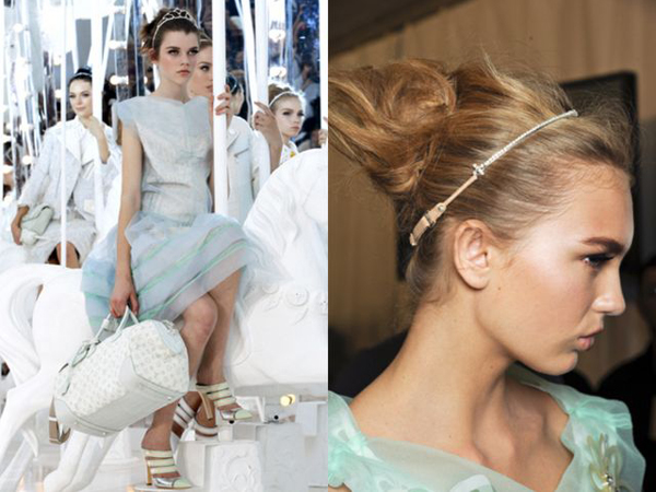 Spring/Summer 2012 Bridal Beauty Trends - From the Runway to the Aisle