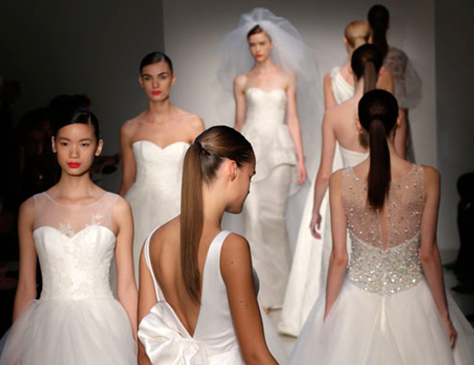 2013 New York International Fashion Bridal Week - Hair & Makeup Trends