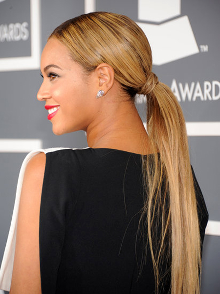 Beyoncé - Grammy Awards 2013: Best Red Carpet Bridal Makeup & Hair