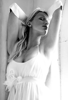 Bride Fashion Model (Black & White) 07