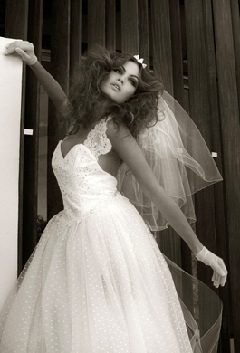 Bride Fashion Model (Black & White) 10