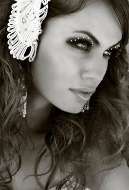 Bride Fashion Model (Black & White) 13