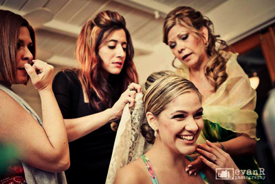 Real Brides Getting Ready - Makeup by Aradia - Bride Maria Paola